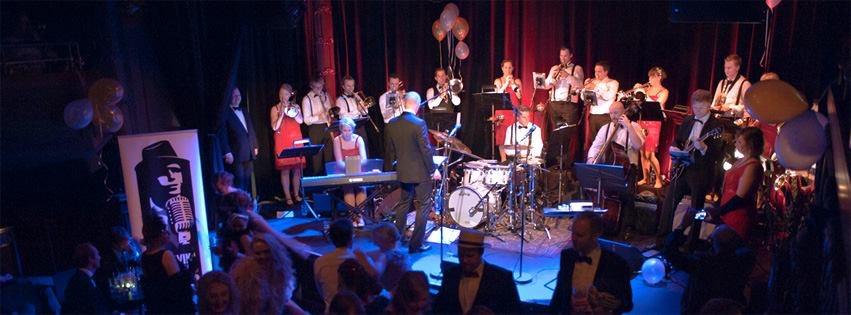 Storband i bryllupet Bjørvika Business Band